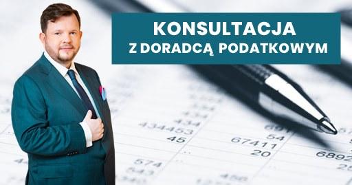 Konsultacja z doradcą podatkowym Michałem Cielibałą